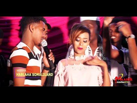 CABDIYARE NEW ( HABLAHA ) FANSAN SHOW EID  HD VIDEO MUSIC 2018