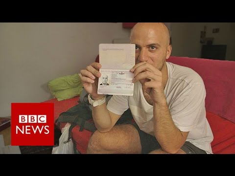 Exodus: I tried to fly to London on a fake passport - BBC News