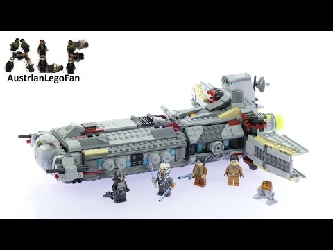 Lego Star Wars 75158 Rebel Combat Frigate - Lego Speed Build Review