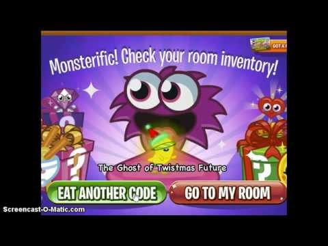Moshi Monsters Twistmas codes
