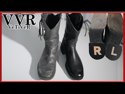 [ASMR] Clean & Restore 'Number(N)ine' Side Laces Boots