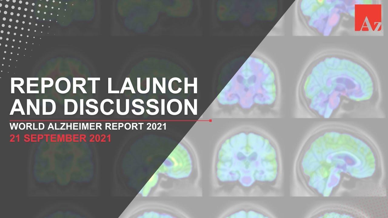Download World Alzheimer Report 2021 launch webinar: Journey through the diagnosis of dementia