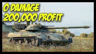 ► 0 Damage, 200k Credits Profit! :O - World of Tanks T92 LT Gameplay