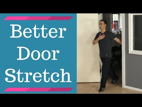 Alternative Door Frame Chest Stretch (Stretch Pectoralis Major & Minor)