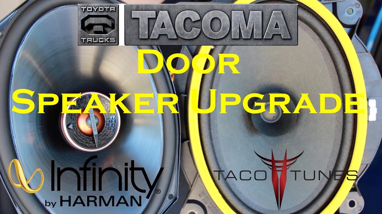 2016 toyota tacoma door speaker upgrade tim 39 s tacoma garage ep 20 youtube. Black Bedroom Furniture Sets. Home Design Ideas
