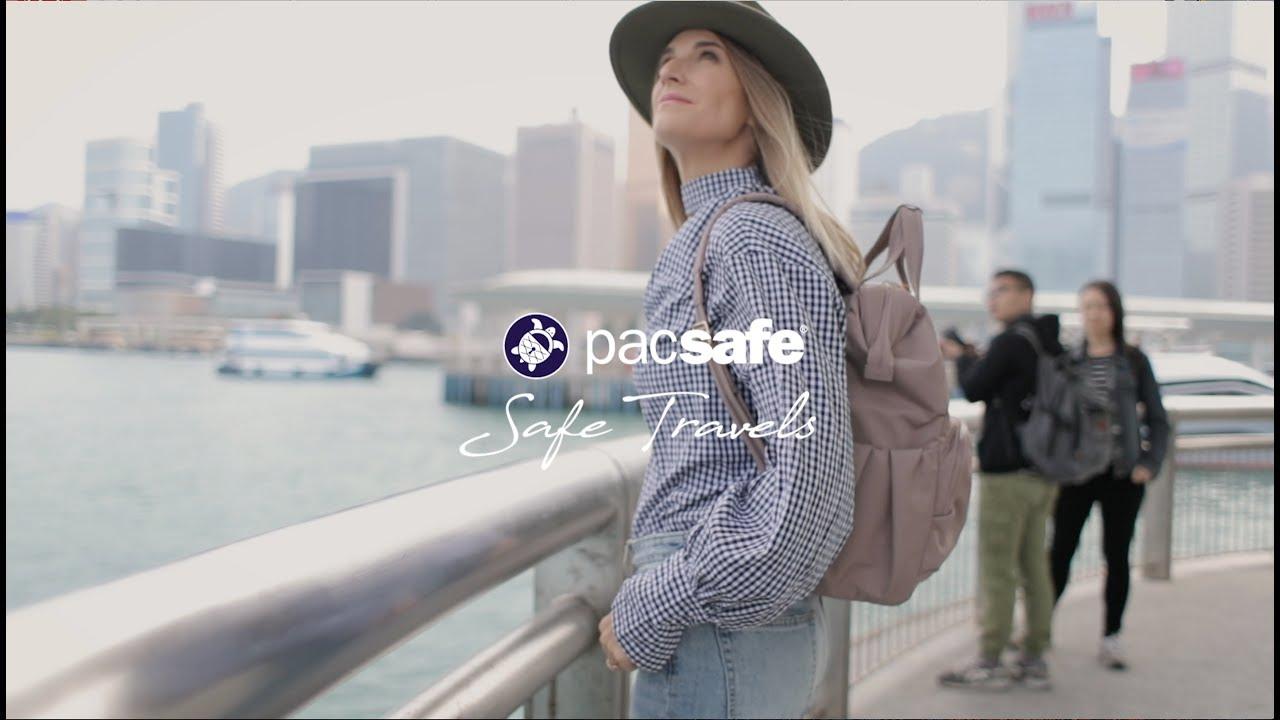 6a22bc0c58b3 LOCK YOUR BAG. UNLOCK THE WORLD. Introducing The Citysafe™ CX ...