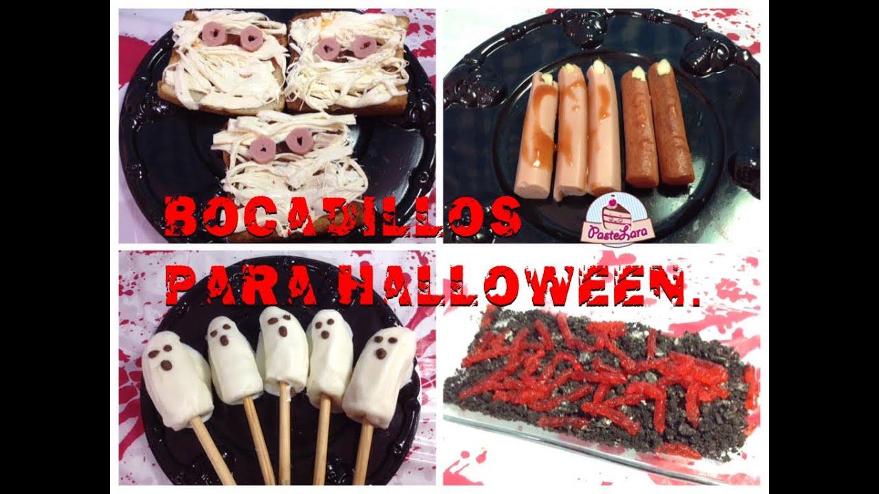 Bocadillos f ciles para halloween hazlo t mismo - Que hacer de cenar rapido y facil ...