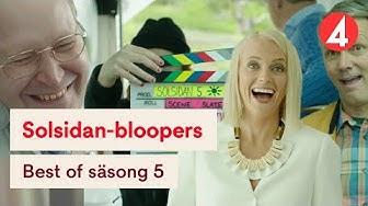 Solsidan - Best of Bloopers - Roligaste från säsong 5 🤣🎬