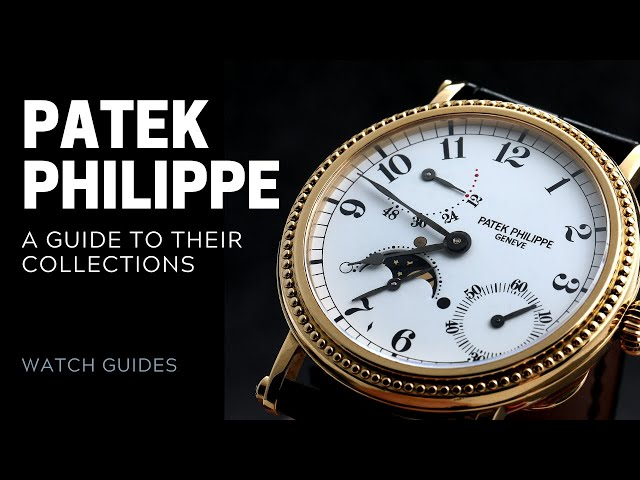 Patek Philippe Watch Collections Guide | SwissWatchExpo [Patek Philippe Watches]