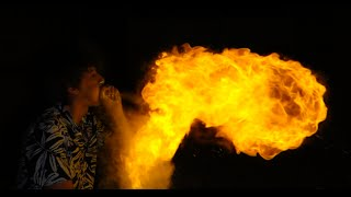 Breathe Fire and make Giant Fireballs with Cornstarch!