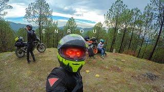 Enroute - Motorcycle Ride to Lansdowne