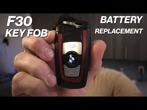 How To Replace Your F30 Bmw Key Fob Battery Youtube