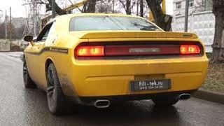 Тюнинг выхлопной системы Dodge Challenger 6.4L 2011 года