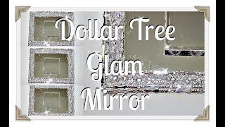 DIy Dollar Tree Glam Mirror