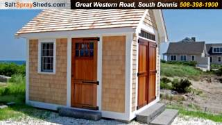Salt Spray Sheds Nantucket Boat House