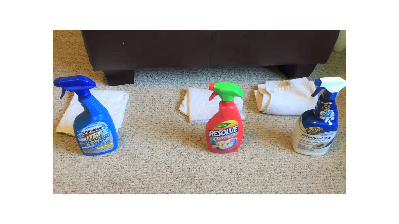 Comparing Upholstery Cleaners Cleaning A Microfiber Couch Scotchgard
