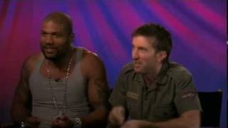 Singing the A-Team Theme with Rampage and Sharlto