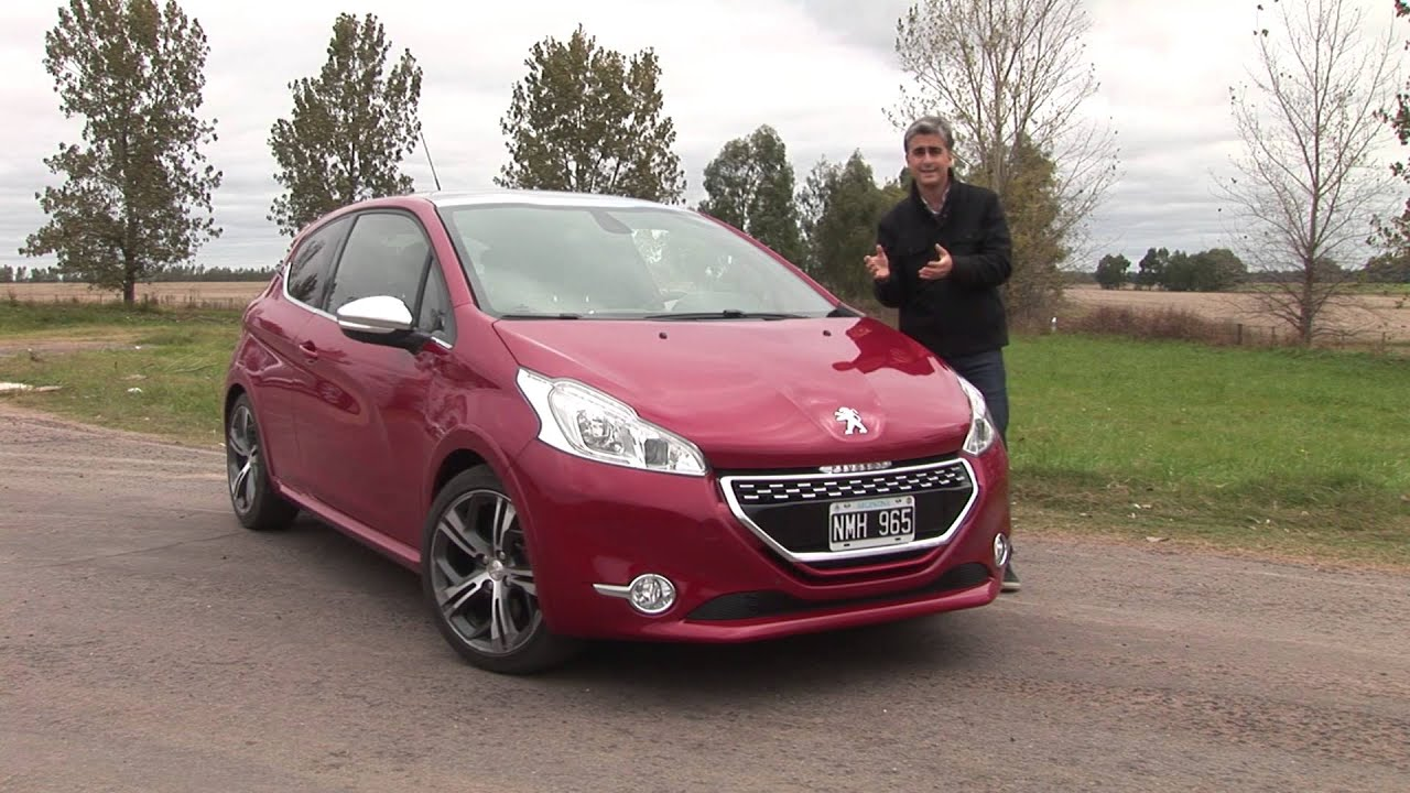 peugeot 208 gti test mat as antico youtube. Black Bedroom Furniture Sets. Home Design Ideas