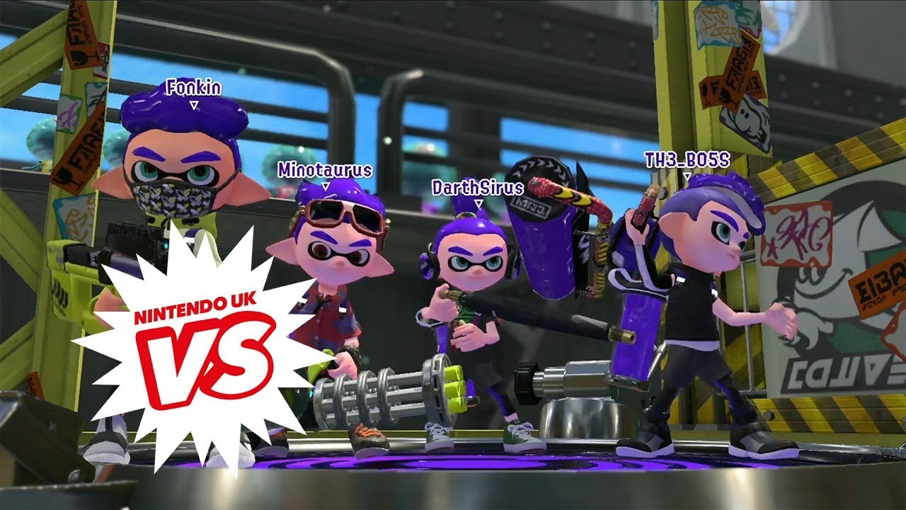 Splatoon 2 - Nintendo UK VS Live - Inkling League Final
