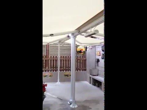 Store terrasse lectrique youtube for Store terrasse electrique