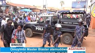Omuyimbi Master Blaster atemuddwa
