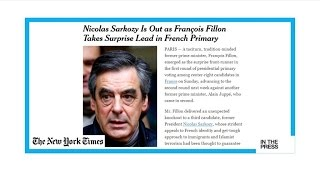 Francois Fillon  A dark horse, 'taciturn, tradition minded'