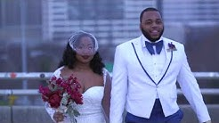 DeShell & Michael's Wedding Filmed at Westside Warehouse Atlanta, GA