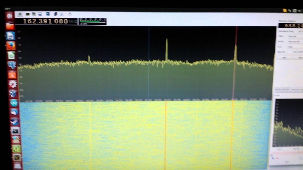 Software Defined Radio using GQRX on Ubuntu Linux