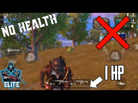 can-we-survive-without-health-|-no-health-|-pubg-mobile-highlights-#4-|-elite-gamer