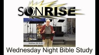 Wednesday Night Bible Study September 22, 2021