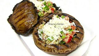 Grilled Stuffed Mushrooms - Video Recipe