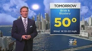 12/1 CBS2 Overnight Weather Forecast