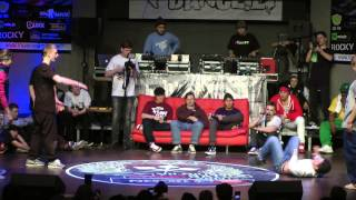 Staff Gang vs Hunters   Vilnius Street Battle 2013   B-Boying Quaterfinal