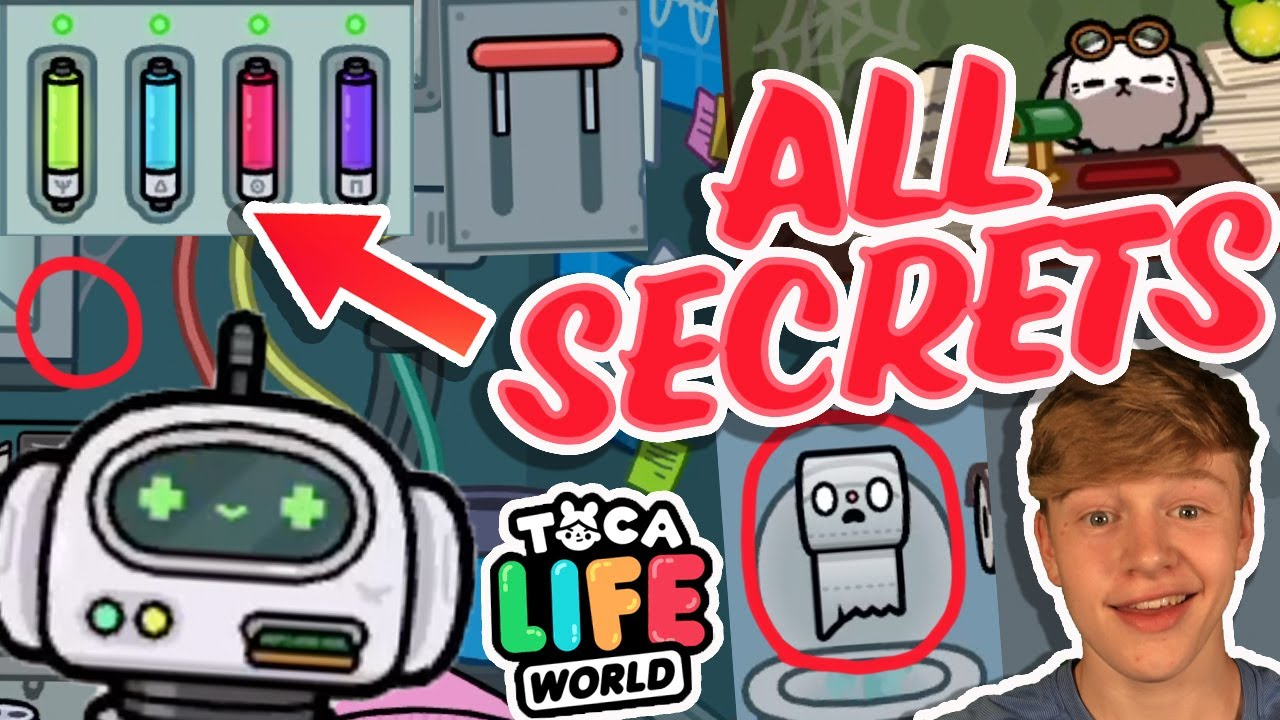 ALL THE SECRETS IN TOCA LIFE WORLD UNIVERSITY!!!!!!