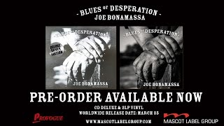 Скачать Joe Bonamassa Blues Of Desperation Album Trailer