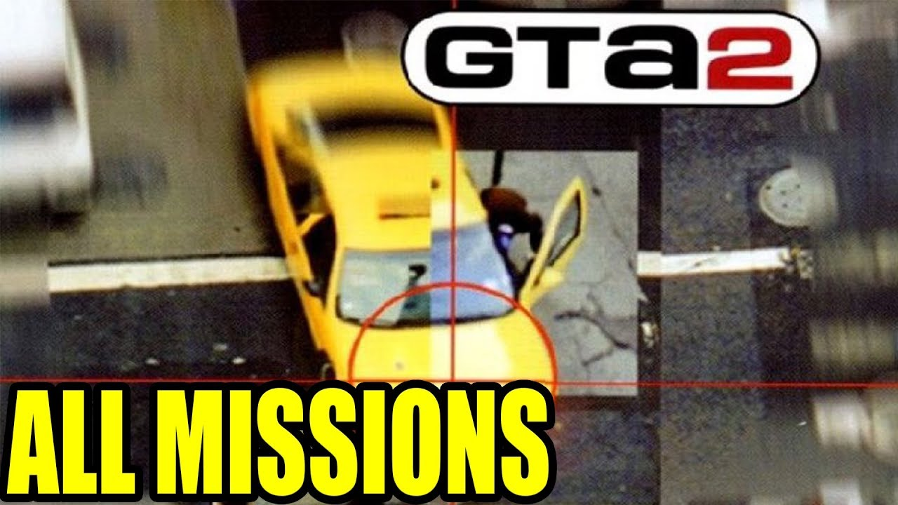 Grand Theft Auto 2 All Missions Full Walkthrough 1080p 50Fps ePSXe/PS1