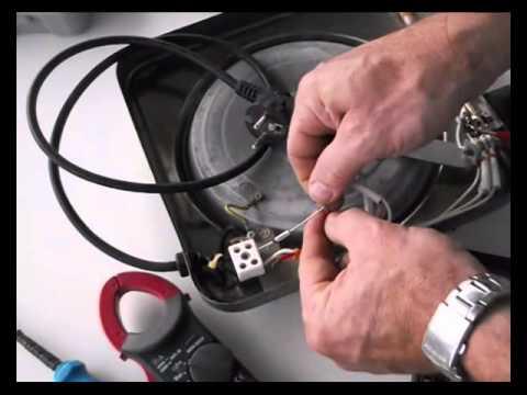 Reparacin de resistencia elctrica placa de cocina