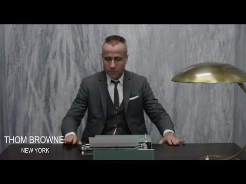 Thom Browne Spring 2015 behind the scenes