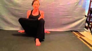 Half Double Pigeon Yoga Pose