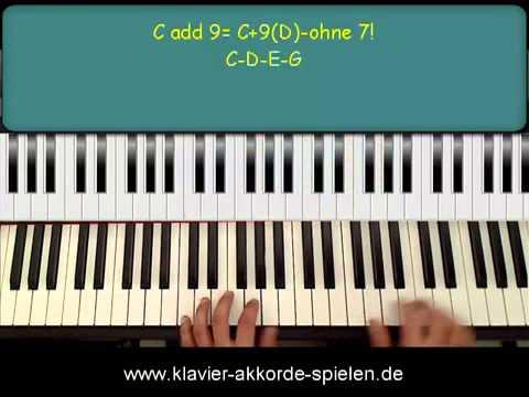 Klavier Spielen keyboard akkorde lernen klavier akkorde spielen