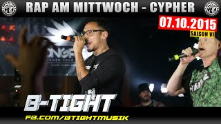 RAP AM MITTWOCH BERLIN: 07.10.15 Die Cypher feat. B-TIGHT, FRESH POLAKKE uvm. (1/4)