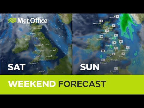 Weekend weather - A frosty start to the weekend but is the cold spell coming to an end?