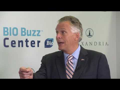 Governor Terry McAuliffe at the 2016 BIO International Convention