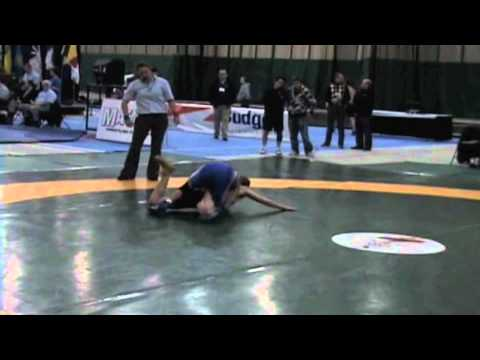 2009 Junior National Championships: 50 kg Vaughn Gandy vs. Steven Takahashi