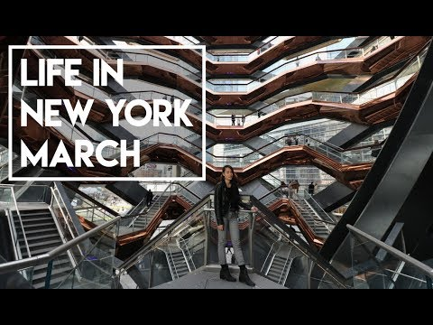 Life in New York - March (escape room, vegan food and epic k