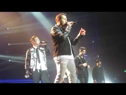 "Backstreet Boys ""Chances""  in Las Vegas November 10 2018"
