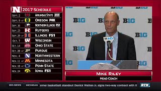 Nebraska's Mike Riley - 2017 Big Ten Football Media Day
