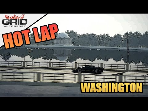 Grid Autosport Gameplay - Hot Lap (World Record) - McLaren F