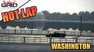 Grid Autosport Gameplay - Hot Lap (World Record) - McLaren F1 GT - Washington