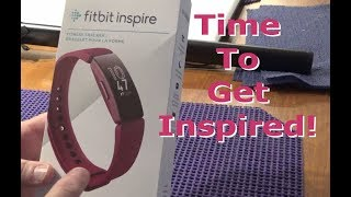 Fitbit Inspire Fitness Tracker Unboxing And Overview